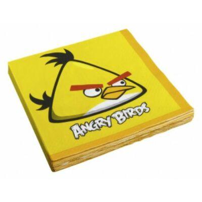 Angry Birds - Sárga Madár Parti Szalvéta, 33 cm x 33 cm