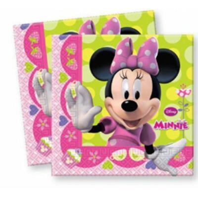 Minnie Bow-Tique szalvéta 33*33cm, 2 rétegű, 20db