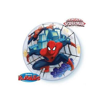 56 cm-es Marvel's Ultimate Spiderman (Pókember) Bubbles Lufi