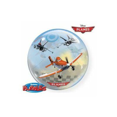 56 cm-es Bubbles Repcsik léggömb (Planes)