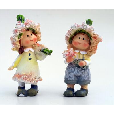 Rózsa lány vagy fiú figura 8 cm-es