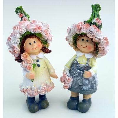 Rózsa lány vagy fiú figura 12 cm-es