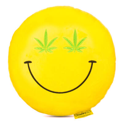 Emoji párna Cannabis