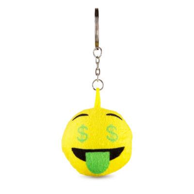 Emoji kulcstartó Dollár