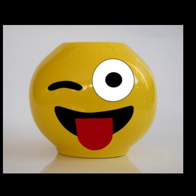 Emoji persely Kacsintós