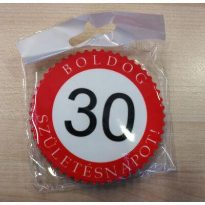 Hűtőmágnes - Boldog 30. születésnapot