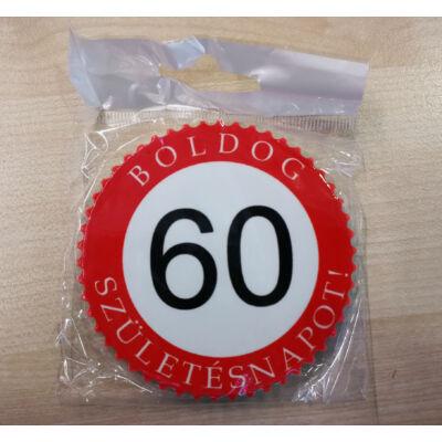 Hűtőmágnes - Boldog 60. születésnapot