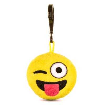 Emoji kulcstartó Kacsintós