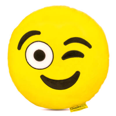 Emoji párna Kacsintós