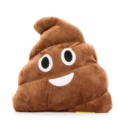 Emoji párna Kaki