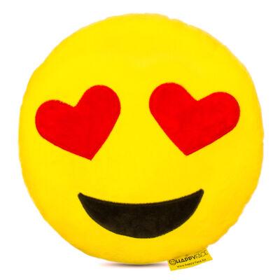 Emoji párna Szerelmes