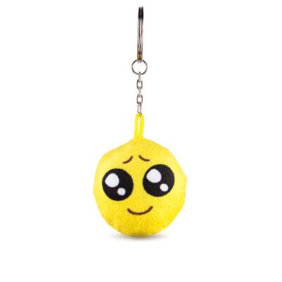 Emoji kulcstartó Nagyszemű