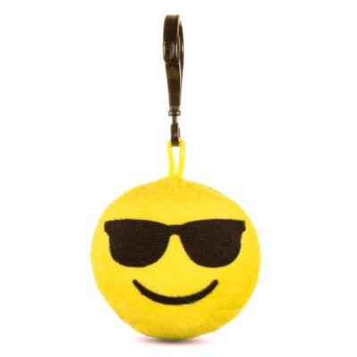 Emoji kulcstartó Napszemcsis