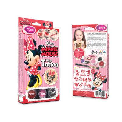Disney Minnie Mouse Csillámtetoválás szett