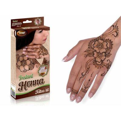 Instant henna szett