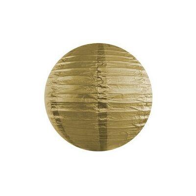 Arany színű lampion - 35 cm