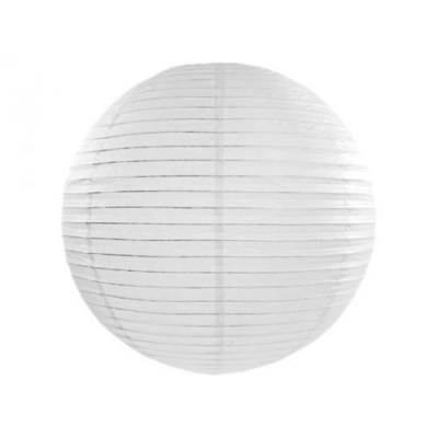Fehér lampion - 35 cm