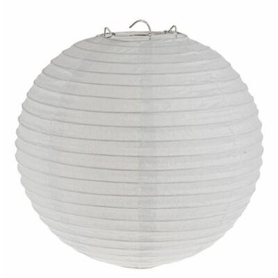 Fehér színű lampion - 25 cm