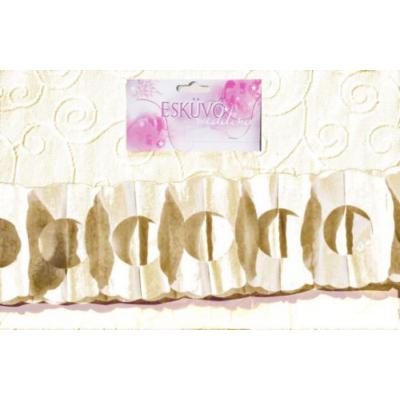 Ivory virág girland 400 x 17 x 12 cm