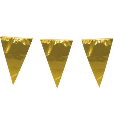 Mini zászlófüzér - Arany
