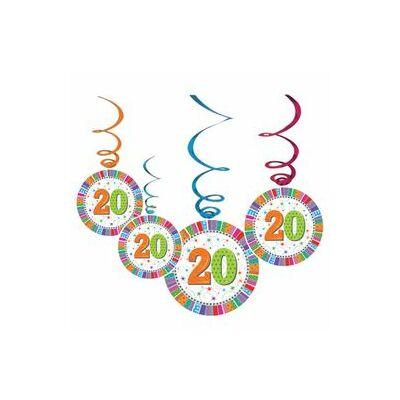 """Függő dekoráció -  """"20"""""""
