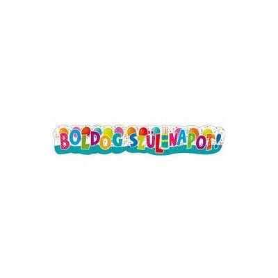 'Boldog Szülinapot!' óriás parti banner - Jamboree