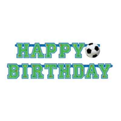 Focis Happy Birthday betűfüzér