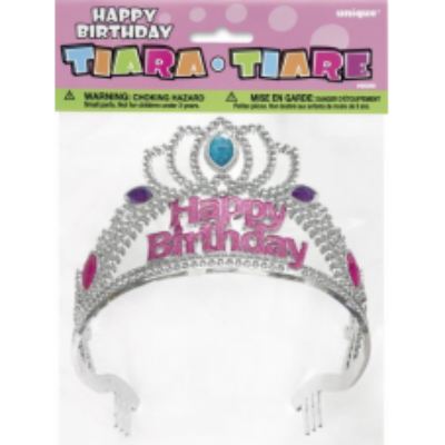Köves tiara, Happy Birthday felirattal