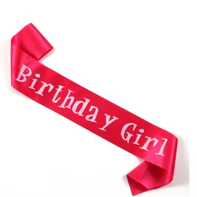 'Birthday Girl' vállszalag