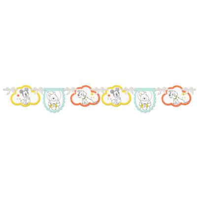 Disney baby mintás papír banner - 1,1 m-es