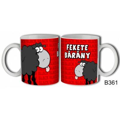Bögre - Fekete Bárány