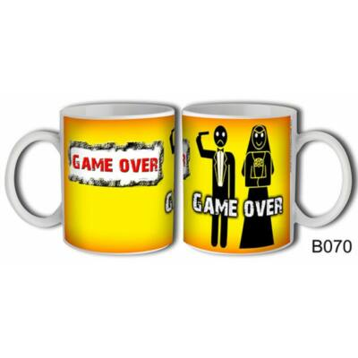 Bögre - Game over