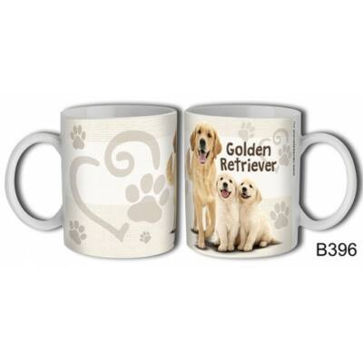 Bögre - Golden Retriever