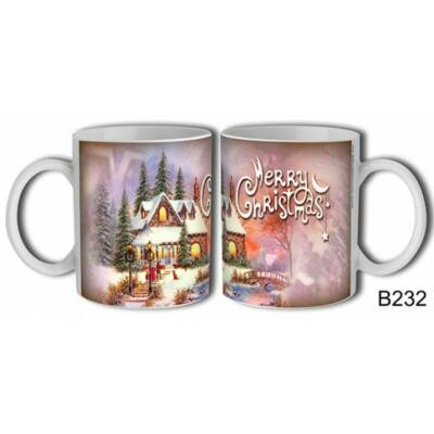 Bögre - Merry Christmas (házikós)