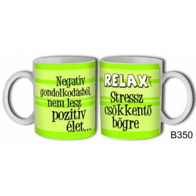Bögre - Stressz csökkentő