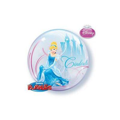 22 inch-es Disney Bubbles Cinderella - Hamupipőke Léggömb