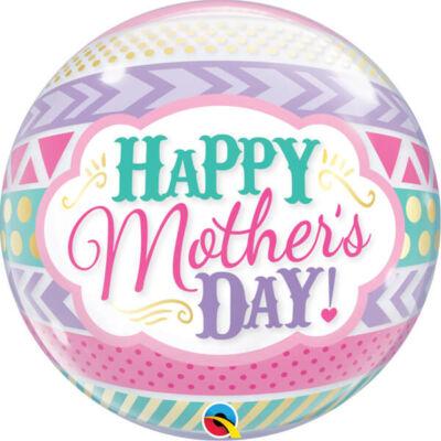 22 inch-es Bubbles léggömb 'Mother's Day' felirattal