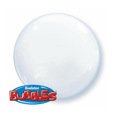 """24""""/61 cm-es Bubbles léggömb (átlátszó)"""