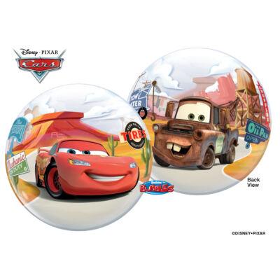 56 cm-es Villám McQueen Disney Bubbles léggömb