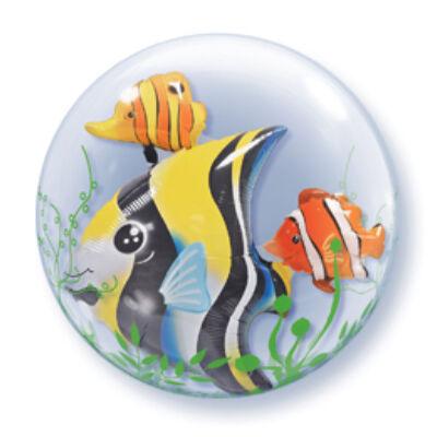 61 cm-es Trópusi halak - Double Bubble léggömb