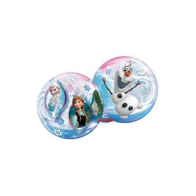 56 cm-es Disney Jégvarázs Bubbles Léggömb (Frozen)
