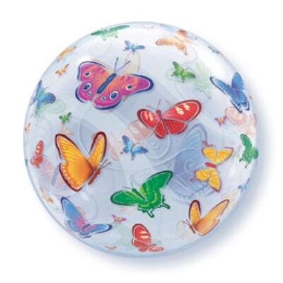 22 inch-es Bubbles léggömb - Pillangók