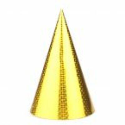 Csákó, hologramos arany színű - 25 cm