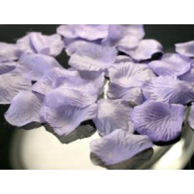 Levendula színű rózsaszirom 100 db/cs