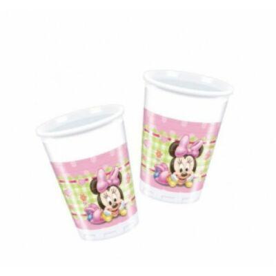 Bébi Minnie Mouse műanyag pohár 200 ml 8 db