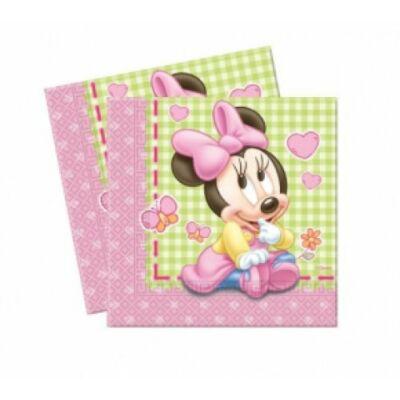 Bébi Minnie Mouse szalvéta 33 x 33 cm 2 rétegű 20 db