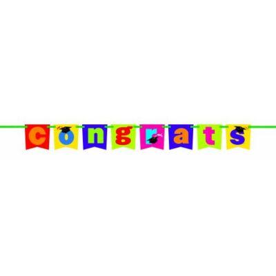 Congrats betűfelirat