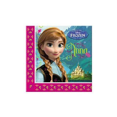 Frozen - Jégvarázs Party Szalvéta - 33 cm x 33 cm, 20 db-os