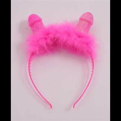 Rózsaszín hajpánt hölgyeknek