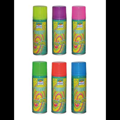 Szerpentin spray különböző színekben